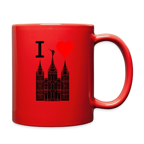 I (Heart) the Temple - Full Color Mug