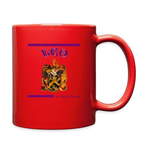 LEO PURPLE - Full Color Mug
