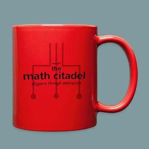 Abstract Math Citadel - Full Color Mug
