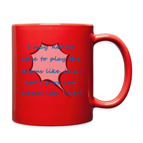 I Sure Can Scream Like Tyler! - Full Color Mug