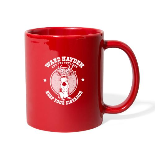 Ward Hayden & The Outliers - Keep Your Distance - Full Color Mug