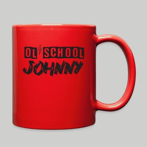 Ol' School Johnny Logo - Black Text - Full Color Mug