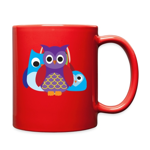 Cute Owls Eyes - Full Color Mug