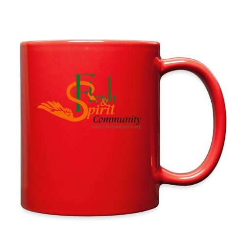 Flesh and Spirit Community T-Shirt - Full Color Mug