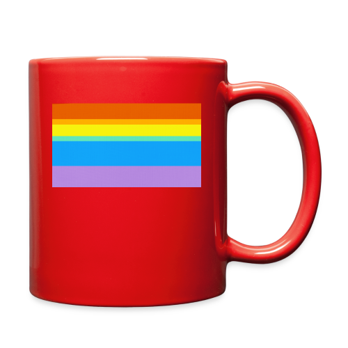 Modern Rainbow II - Full Color Mug