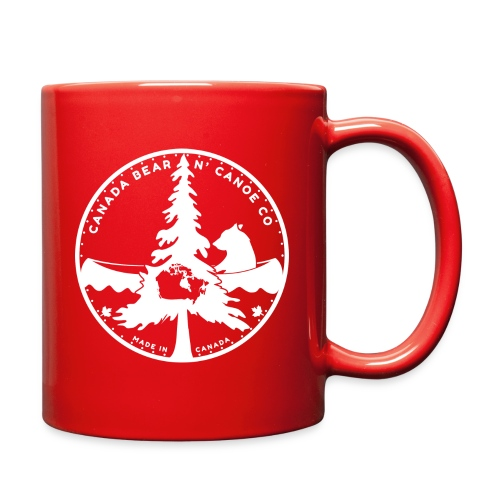 Canada Bear N Canoe CO Fi - Full Color Mug