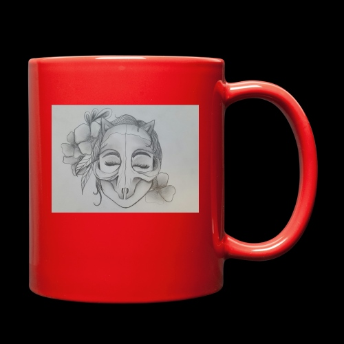 Masked Girl - Full Color Mug