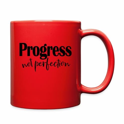 Progress not perfection - Full Color Mug
