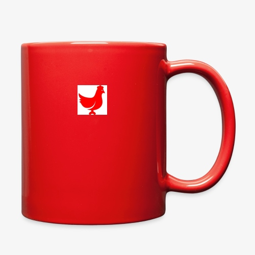red chicken - Full Color Mug