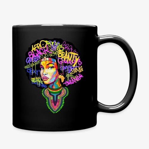 Afro Queen Dashiki - Full Color Mug