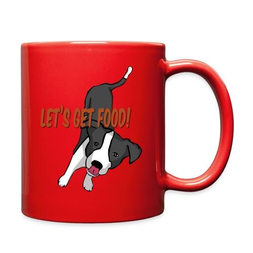 Foodie Dog Border Collie - Full Color Mug