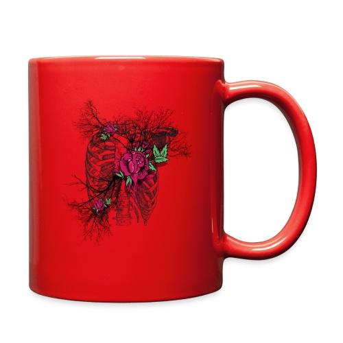 Skeleton Rose - Full Color Mug