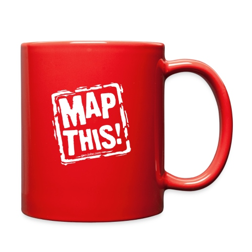 MapThis! White Stamp Logo - Full Color Mug