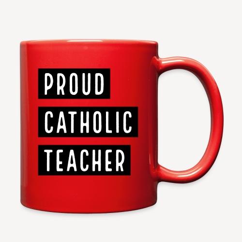 PROUD CATHOLIC TEACHER - Full Color Mug