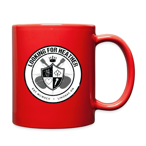Looking For Heather - Crest Logo - Full Color Mug
