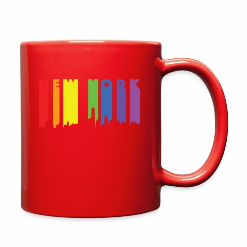 New York design Rainbow - Full Color Mug