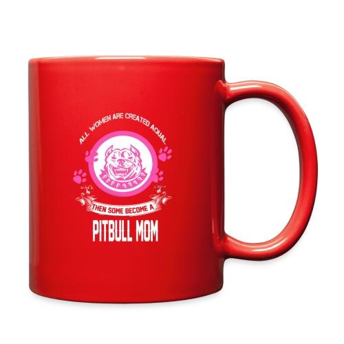 pitbullmom - Full Color Mug