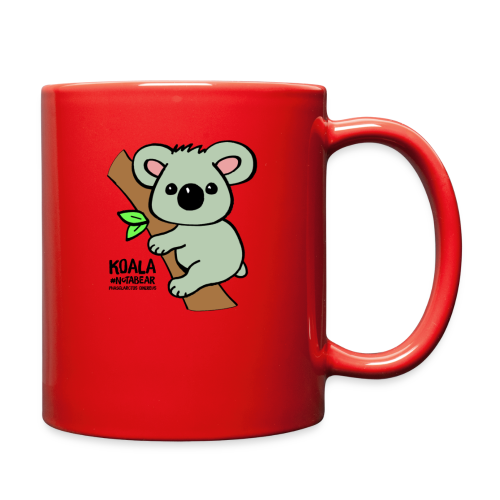Koala Cute. Art by Paul Bass, assisted by Mollie. - Full Color Mug