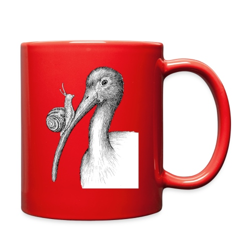 Ibis with Snail by Imoya Design - Full Color Mug