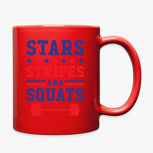 Stars, Stripes And Squats - Full Color Mug
