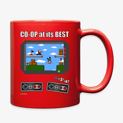 Pixel Art: CO-OP at its BEST - Full Color Mug