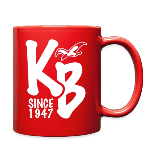 Kure Beach Day-White Lettering-Front and Back - Full Color Mug