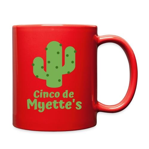 Cinco de Myette's Cactus Design - Full Color Mug