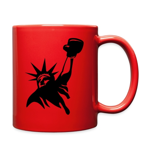 Lady Liberty Design w/ Black RSB Logo - Full Color Mug
