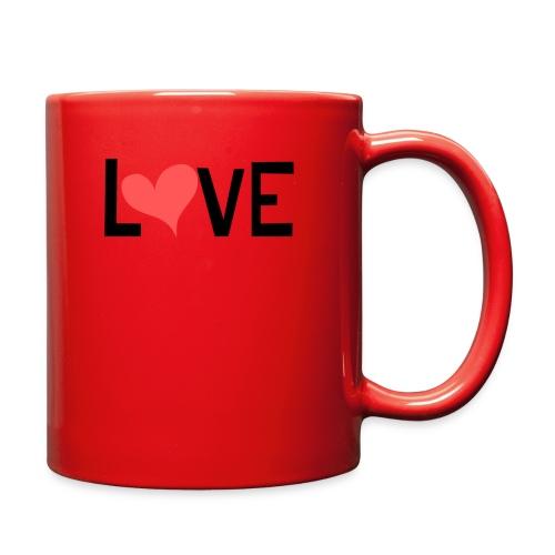 LOVE heart - Full Color Mug