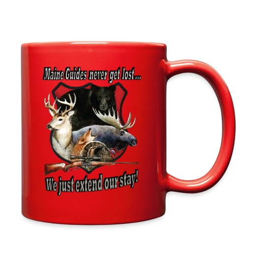 Maine Guides never get lost - Full Color Mug