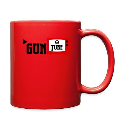 guntube larger logo - Full Color Mug