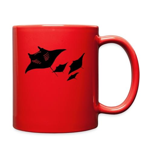 manta ray sting scuba diving diver dive - Full Color Mug
