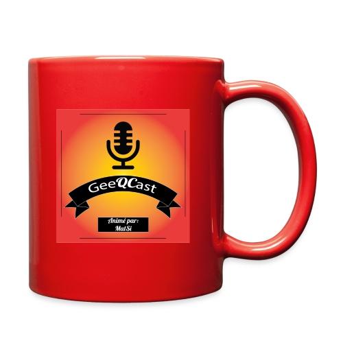 GeeQCast Full Logo - Full Color Mug
