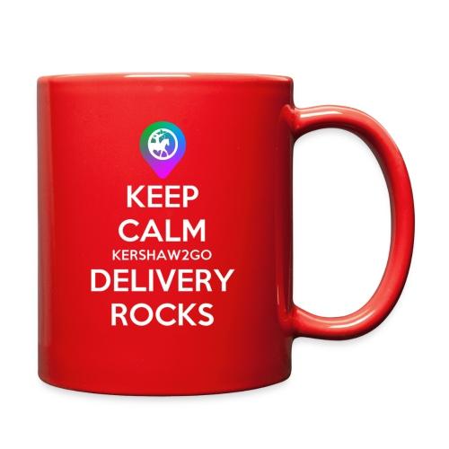 Keep Calm KC2Go Delivery Rocks - Full Color Mug