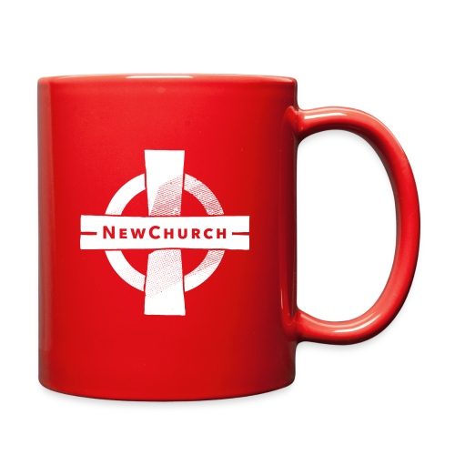 NewChurch Logo White - Full Color Mug