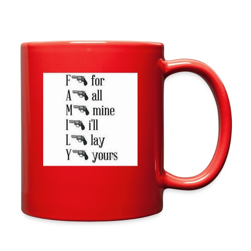Family is important - Full Color Mug