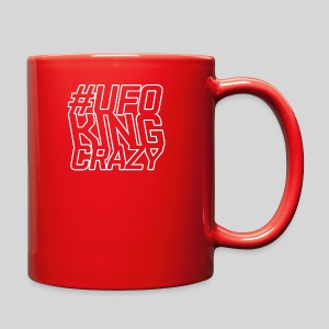 ALIENS WITH WIGS - #UFOKingCrazy - Full Color Mug
