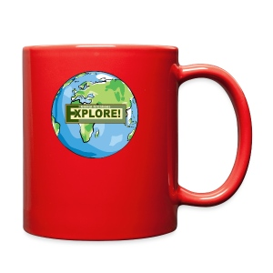 EXPLORE! Logo on the Earth - Full Color Mug