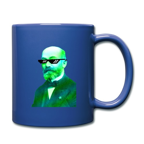 Green and Blue Zamenhof - Full Color Mug