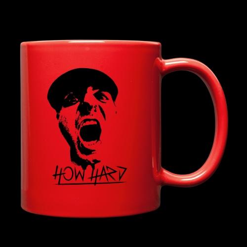How Hard Scream Face & Logo - Full Color Mug