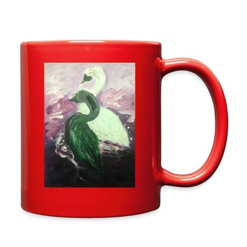 Black and White Swans - Full Color Mug