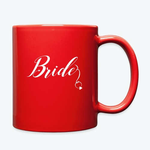 VaRod Designs Bride Tee in white letters - Full Color Mug