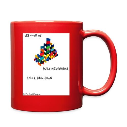 Hi I'm Ronald Seegers Collection-dominoes - Full Color Mug