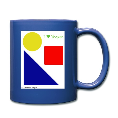 Hi I'm Ronald Seegers Collection-I Love Shapes - Full Color Mug