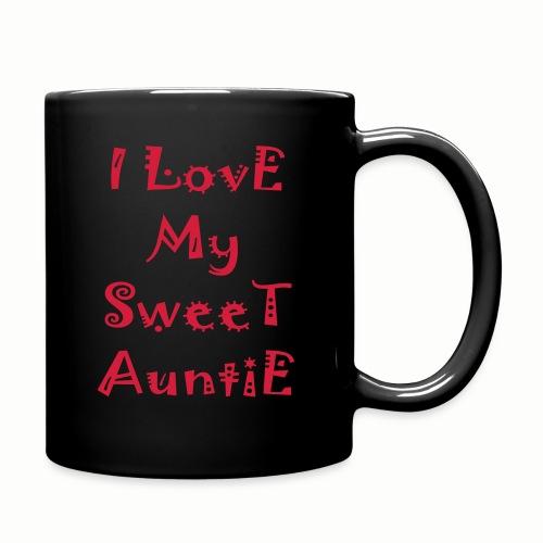 I love my sweet auntie - Full Color Mug