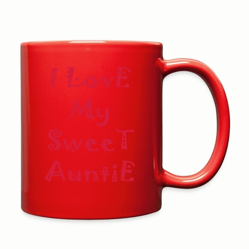 I love my sweet auntie - Full Color Mug
