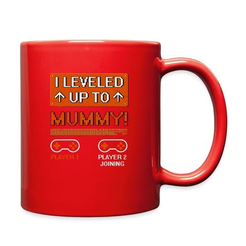I Leveled Up To Mummy - Full Color Mug