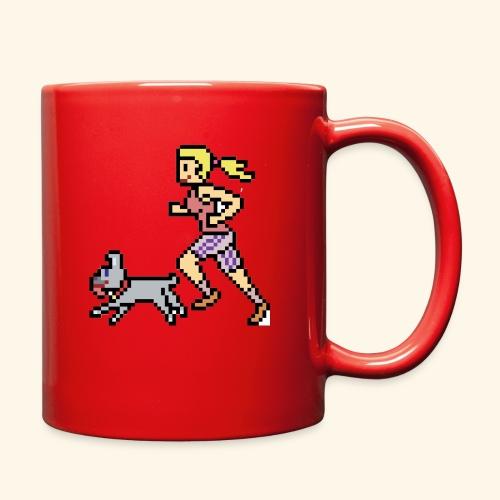 RunWithPixel - Full Color Mug