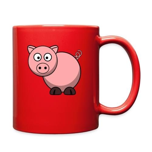 Funny Pig T-Shirt - Full Color Mug