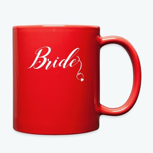 VaRod Designs Bride Tee in white letters - Full Color Mug